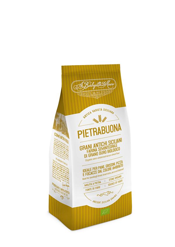 Pack farina grani antichi siciliani Pietrabuona